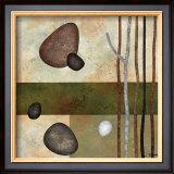 Sticks and Stones VI Print by Glenys Porter
