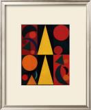 Soleil, c.1947 Prints by Auguste Herbin
