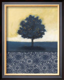 Blue Lemon Tree I Prints by Norman Wyatt Jr.