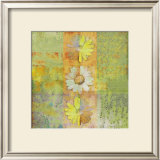 Floral with Cursive II Print by Pierre Fortin