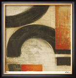 Retro Inspired III Limited Edition Framed Print by  Judeen