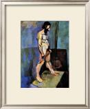 Male Nude Model Framed Giclee Print by Henri Matisse