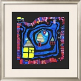 End of the Waters, c.1979 Prints by Friedensreich Hundertwasser