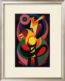 Symchromie en Noir, c.1939 Art by Auguste Herbin