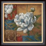 Floral Medley I Print by  Nan