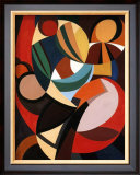 Composition, c.1936 Posters by Auguste Herbin