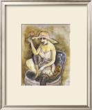 Jeune Fille a la Rose, c.1923 Posters by Otto Dix