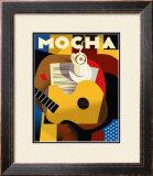 Cubist Mocha Prints by Eli Adams