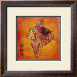 L&#39;Esprit Indien Print by Andrea Haase