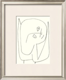 Engel Voller Hoffnung, c.1939 Art by Paul Klee