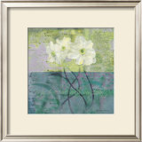 Floral with Cursive III Prints by Pierre Fortin