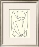 Vergesslicher Engel, c.1939 Prints by Paul Klee