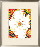 Color Melody: Strong Sunshine of Summer Vitality and Power of Life Framed Giclee Print by Kyo Nakayama
