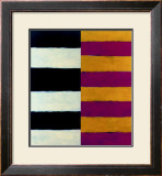 Four Large Mirrors, c.1999 Framed Giclee Print by Sean Scully