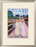 Madeban auf dem Pier, c.1896 Prints by Edvard Munch