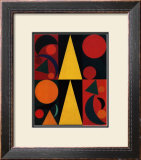 Soleil, c.1947 Prints by Auguste Herbin