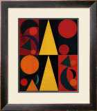 Soleil, c.1947 Posters by Auguste Herbin