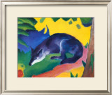 Blue Fox, c.1911 Art by Franz Marc
