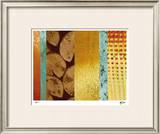 Bamboo & Lilies II Limited Edition Framed Print by M.J. Lew