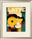 Cubist Latte Prints by Eli Adams