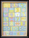 Numbers Posters by Cheryl Piperberg