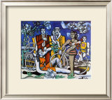 Les Loisirs, c.1948 Print by Fernand Leger