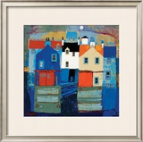 Seatown Limited Edition Framed Print by George Birrell