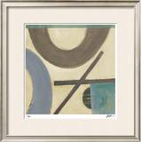 Retro Inspired V Limited Edition Framed Print by  Judeen