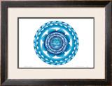 Water Spiral Print by Jozef Smit