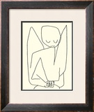 Vergesslicher Engel, c.1939 Prints by Paul Klee