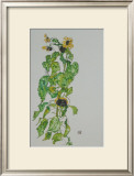 Sunflowers, 1917 Posters by Egon Schiele