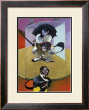 Personnages Assis, c.1978 Art by Francis Bacon