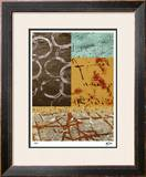 Squares and Circles I Limited Edition Framed Print by M.J. Lew