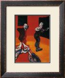 Trois Etudes pour une Crucifixion, c.1962 Art by Francis Bacon