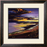 Cree Estuary Sunset Limited Edition Framed Print by Davy Brown