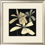 Oxygen Flower Trio Print by Debbie Halliday