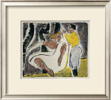 Russian Dancers Prints by Ernst Ludwig Kirchner