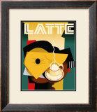 Cubist Latte Art by Eli Adams