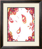 Color Melody: All Love Imagined by Spring Flower and Pink Warm Color Framed Giclee Print by Kyo Nakayama
