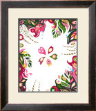 Color Melody: Day of Spring Pretty Cherry Blossoms Framed Giclee Print by Kyo Nakayama