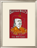 Wild West Buffalo Bill Framed Giclee Print