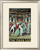Horace Goldin: The Tiger God, 1920 Posters