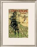 L'Hippodrome Framed Giclee Print by Manuel Orazi