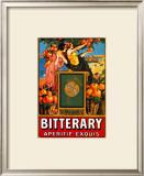 Bitterary Apertif Framed Giclee Print