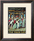 Horace Goldin: The Tiger God, 1920 Print