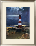 East Coast Landmarks, Happisburgh near Stalham, British Rail Framed Giclee Print by Frank Mason