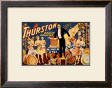 Thurston Master Magician Framed Giclee Print