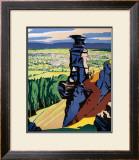 Cheltenham Spa, GWR/LMS Poster, 1923-1947 Framed Giclee Print by Ch Birtwhistle