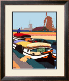 Bulb Time in Holland Framed Giclee Print by Fred Taylor