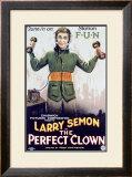 Larry Seman Perfect Clown Framed Giclee Print